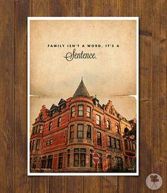The Royal Tenenbaums  Wes Anderson Movie Poster  por CinemaStudio