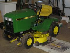 Read about our John Deere Restoration efforts to transform a rusty 1992 John Deere Hydro 175 into show room condition. Metal Projects, Garden Projects, John Deere Garden Tractors, Riding Mower, Local Hardware Store, Sanding Block, Rusty Metal, Painters Tape, Rubber Tires