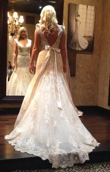Exclusive Bridals By Allure P960 Private Allure Collection Wedding Dress FOR SALE