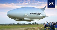 Hindenburg lensi räjähdysherkällä vedyllä, uudet ilmalaivat heliumilla.