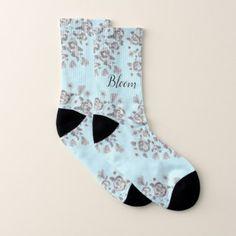 Prettiest Ladies Socks - flowers floral flower design unique style