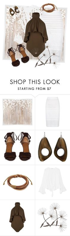 """""""natural"""" by kkornak on Polyvore featuring PTM Images, Pinko, Aquazzura, MANGO and Boohoo"""