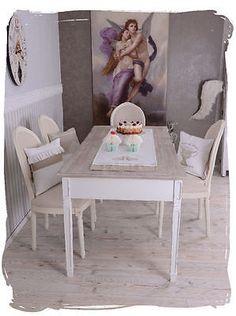 Tavolo Pranzo Casa Campagna Tavolo Sala Da Pranzo Nostalgia Annata Tavolo Bianco