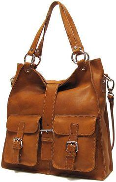 Livorno Leather Shoulder Bag