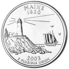 I want this somewhere on my body, the circle and the lighthouse, not the boat, instead just have a heart. And then at the top it'll say Maine and then the year my dad was born. He collects Maine quarters.