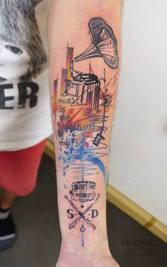 #tattoofriday - Carola Deutsch Decasa Kreativstudio