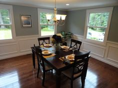 Traditional Dining Room photo by Arranged to Sell