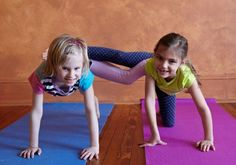 children's partner yoga