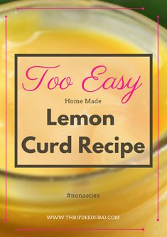This Lemon Curd is luscious zesty creamy & smooth. With two easy ways to make it will soon become a regular in your kitchen How to make the easiest Lemon Curd Easy Lemon Curd, Lemon Curd Recipe, Fresh Lemon Juice, Good Food, Yummy Food, Pancake Day, Recipe Notes, Food Waste, Grubs