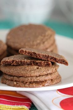 Reeses Peanut Butter Cup Cookies - Only uses two ingredients, and comes out thin, crispy on the edges and chewy in the centers.  I held my breath when making these, 'cause I did not believe they were going to come out right.  Delish!