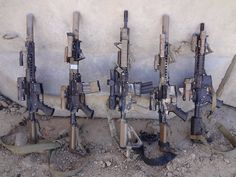 Tactical Carbine Aftermarket Accessories for Military Combat Applications: The Competition-to-Combat Crossover, Part 3 Military Weapons, Weapons Guns, Airsoft Guns, Guns And Ammo, Military Army, Armas Airsoft, Tactical Accessories, M4 Accessories, M4 Carbine