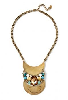 Dannijo gold necklace