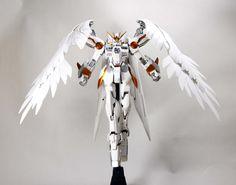 MG 1/100 Wing Gundam Zero Custom - Painted Build