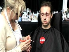 Skin Illustrator Glazing Gels Part 4 Instructional Video. Making a black eye.