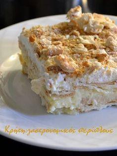 Greek Sweets, Greek Desserts, Summer Desserts, Greek Recipes, Desert Recipes, Greek Cake, Low Calorie Cake, Greek Pastries, Easy Sweets