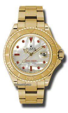 Rolex Yacht Master Mother of Pearl Dial Automatic Yellow Gold Oysterlock Mens Watch 16628 Write a Review $27,951 #Rolex #watch #watches #chronographes