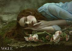 """""""Portrait of Sadness"""" by Agnieszka Lorek Photography"""