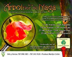 El Árbol de la Flor de Maga #sondeaquipr #arboldelaflordemaga #aguada #humacao #juanadiaz #orocovis #cba