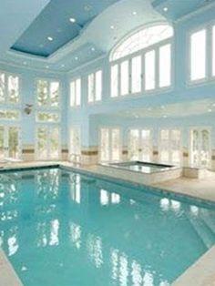 Inside swimming pool at some resort .!!!