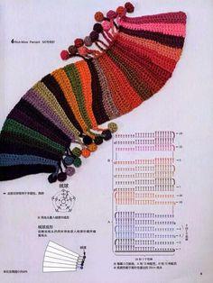 Watch This Video Beauteous Finished Make Crochet Look Like Knitting (the Waistcoat Stitch) Ideas. Amazing Make Crochet Look Like Knitting (the Waistcoat Stitch) Ideas. Crochet Scarf Diagram, Crochet Edging Patterns, Crochet Chart, Crochet Beanie, Crochet Motif, Crochet Designs, Crochet Stitches, Shawl Patterns, Mode Crochet