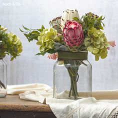 Harper Glass Vases – Part of our new promo range, they are the go-to economical vases for small arrangements. Artificial Silk Flowers, Kochi, Glass Vase, Recycling, Tropical, Table Decorations, Vases, Range, Color