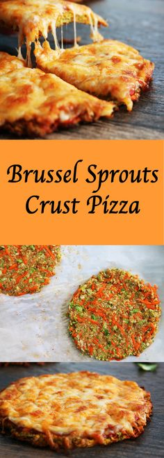 Brussel Sprouts Crust Pizza