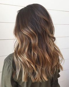Brown Balayage Hair Color Ideas  #Brown #Balayage