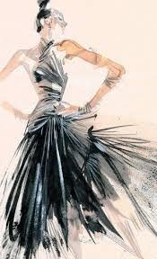fashion illustrator david downton - Google Search