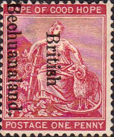 Bechuanaland 1895 Cape of Good Hope Fine Used Sg 38 Scott Stamps For Sale Take a Look