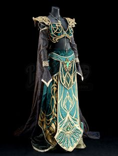 Elf Cosplay, Elf Costume, Cosplay Outfits, Anime Outfits, Character Costumes, Character Outfits, Fantasy Gowns, Fantasy Outfits, Female Elf