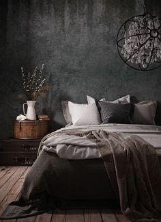 Room Ideas Bedroom, Bedroom Colors, Home Decor Bedroom, Bedroom Wall, Black Bedroom Design, Interior Design Living Room, Bedroom Designs, Luxurious Bedrooms, New Room