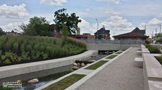 Liberty Pass Canal | Muncie, Indiana | Designer: United Engineering, Consultant: Rundell Ernstberger Associates & Beam, Longest and Neff, General Contractor: Bowen Engineering Corp.