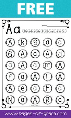 Are you looking for some great activities for teaching letter recognition? Help your students master uppercase and lowercase letters with this activity packet. Kids practice identifying letters with 3 engaging worksheets and 2 fun center activities. Teaching Letter Recognition, Teaching Letters, Preschool Letters, Learning The Alphabet, Recognition Ideas, Learning Spanish, Preschool Literacy, Preschool Worksheets, In Kindergarten