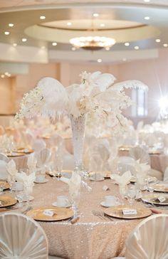 An Elegant Winter Wonderland Themed Wedding In Windsor Ontario