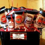 Graduation cake pops....plus lots of idea for a dessert buffet