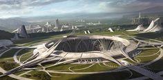 Temple by Joon Hyung Ahn | Sci-Fi | 2D | CGSociety