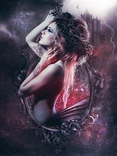 Photo Manipulations by Stephanie Pitino . . . I like it for a photo manipulation as part of the zodiac. Virgo?