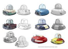 Fernando juarez illustrator: Cars for Planet 51