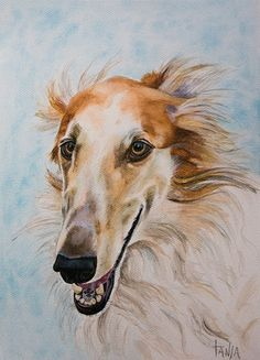 Hey, I found this really awesome Etsy listing at https://www.etsy.com/listing/166652073/borzoi-mihail-art-print-size-8x12-inch