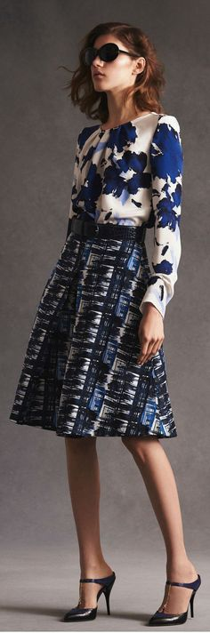 Peter Copping'S First Resort Collection for Oscar de la Renta