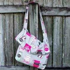1 Yard Magic Messenger Bag from Lecien Fabrics! {free pattern} — SewCanShe | Free Daily Sewing Tutorials
