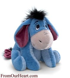 Eeyore 14 inch Plush Stuffed Walt Disney Character by Gund. The classic Eyeore Walt Disney character loved by young and old is part of Gund's Winnie The Pooh collection. Also available in 7 and 12 inches. $25.50