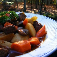 """Make-Ahead Slow Cooker Beef Stew I """"This was so good!  My husband raved about it while he was eating it, mentioned it again later that night, and then raved again when we had leftovers the next night."""""""