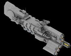 Destroyer WIP 3 by Stormfactor