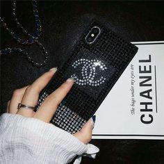 3befe8531fbe00 iphonex シャネルケース ラインストーン キラキラ iphone8/8plusケース CHANEL 可愛い アイフォン7携帯カバー ブランド  セレブ iphone6s/6 plus スマホケース ...