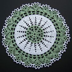 Ravelry: Two-tone Doily pattern by American Thread Company, crochet