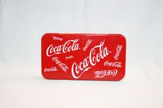 Vintage Coca-Cola Pencil Box Collector's Tin - Coca Cola Collectible Coke Memorabilia Ephemera Collectible 1987 Storage Trinket Box by KattsCurioCabinet on Etsy Coca Cola Gifts, Ephemera, Pencil Boxes, Coke, The Collector, Trinket Boxes, Tin, Vintage Items, Crafts