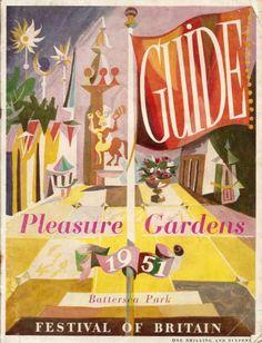 Guide to the Pleasure Gardens of Battersea Park, Festival of Britain, 1951.