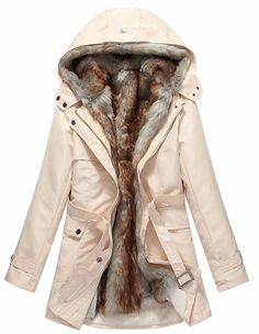 Stay ultra warm and cozy this Winter in our Luxe Tessa Parka Jacket. This down feather parka is made extremely plush with vegan fur lining throughout the interior. Other features include a hood lined