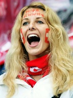 Switzerland soccer fan.
